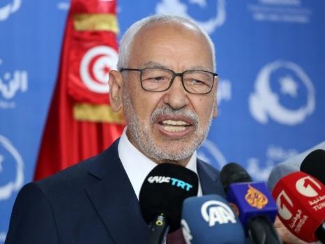 Tunisie: le chef historique d'Ennahdha Rached Ghannouchi élu président du Parlement