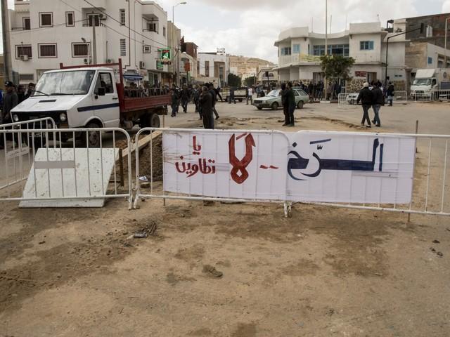 Loin des vagues d'arrestations des hommes d'affaires: À Tataouine, la contestation continue