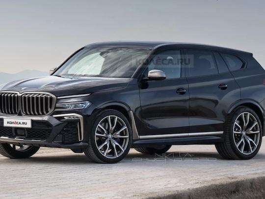 A quoi ressemblera le futur SUV ultra-luxueux de BMW ?