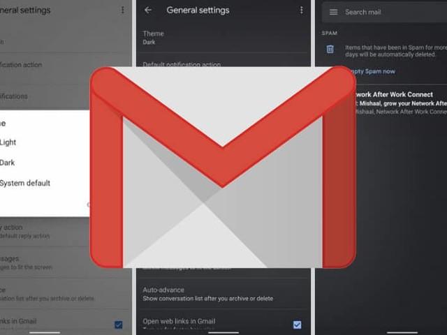 Gmail déploie le mode sombre sur Android et iOS, téléchargez l'APK
