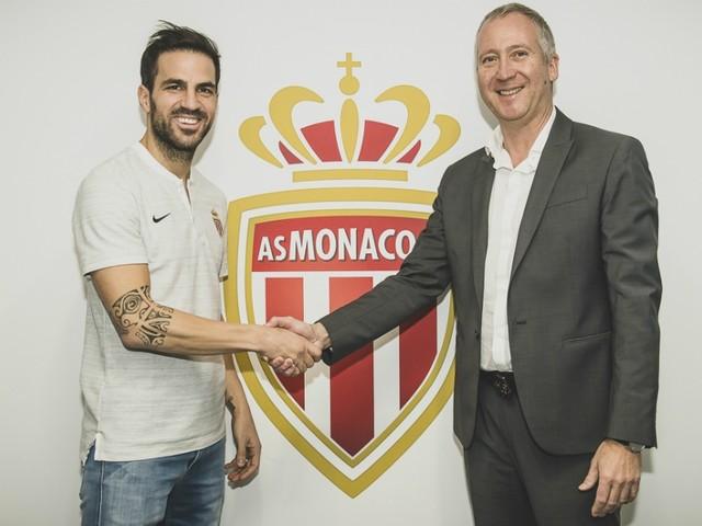 Monaco accueille Fabregas