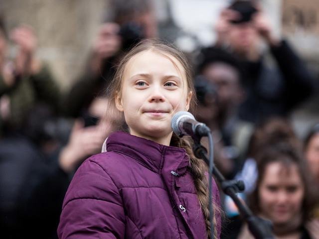 Greta Thunberg dépose son nom et celui de ses mouvements pour le climat