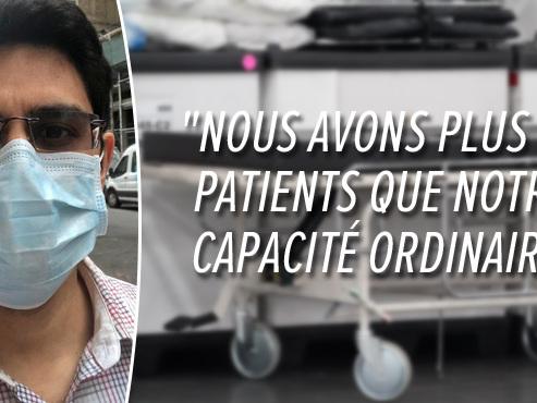"""Ce médecin new-yorkais se prépare au pire: """"Avec un nombre limité de respirateurs, vous devez choisir"""""""