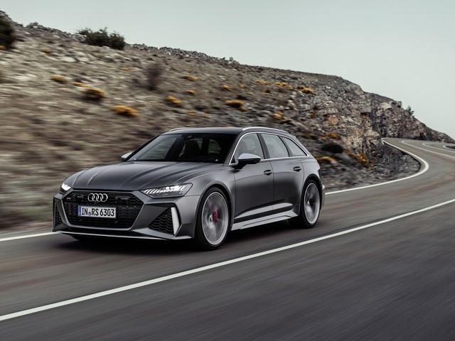 Audi RS6 Avant : c'est du brutal