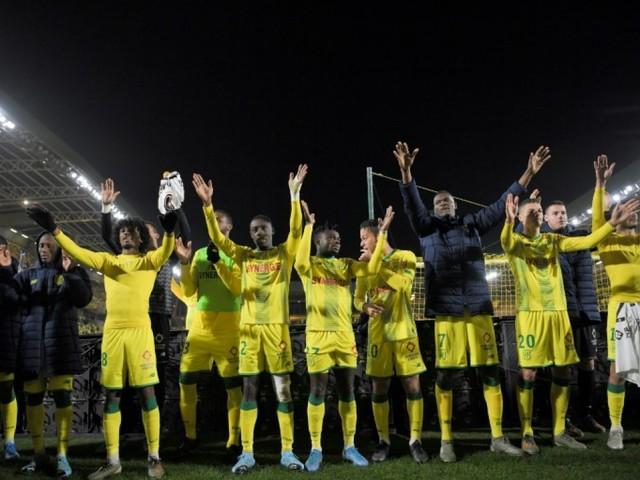 L1: Nantes bat Dijon de justesse et réussit un double six
