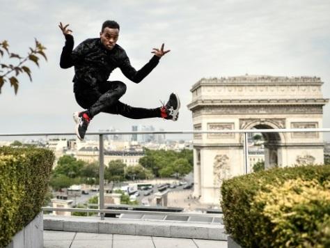 "Lil'Buck, cygne du hip-hop: la danse a ""changé ma vie"""