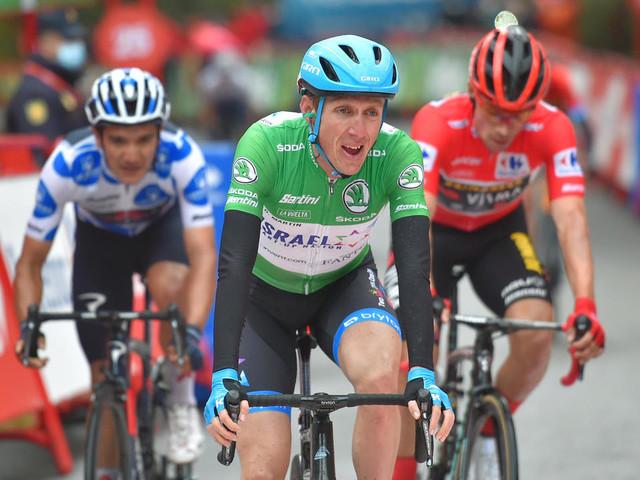 Tour d'Espagne: l'émotion de Dan Martin, la sérénité de Primoz Roglic