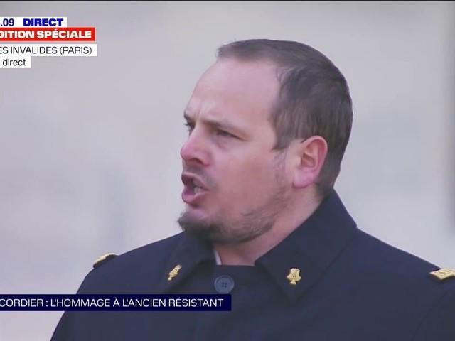 """Hommage à Daniel Cordier: """"Le Chant des partisans"""" résonne dans la Cour des Invalides"""