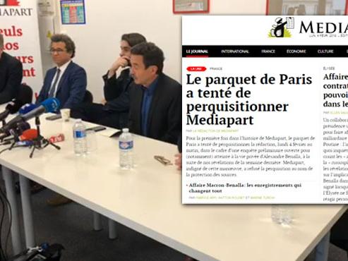 """Le parquet de Paris a tenté de perquisitionner la rédaction de Mediapart dans l'affaire Benalla: """"Une attaque au secret des sources"""""""