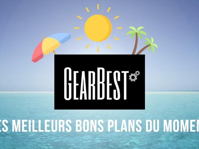 Bons plans et codes promo GearBest : les meilleures offres du moment