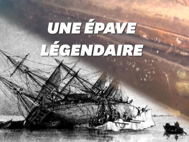 L'épave mythique d'un bateau vieux de 200 ans retrouvée en Arctique