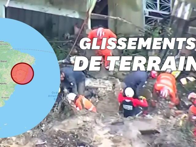 Au moins 30 morts au Brésil après les pluies les plus fortes jamais enregistrées