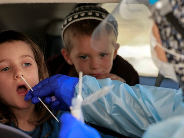 En Israël, le pass sanitaire imposé dès 3 ans face à la montée du variant Delta