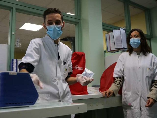 Sud-Gironde : l'hôpital facilite l'envoi des résultats des tests covid