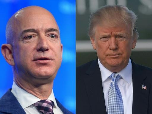 Mégacontrat du Pentagone: Amazon accuse Trump d'avoir fait pression
