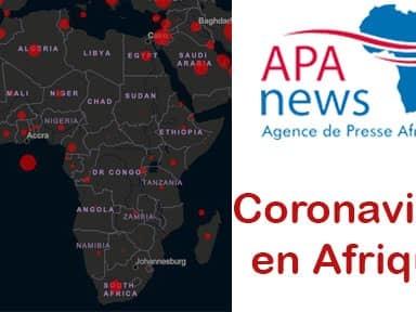 Evolution du coronavirus en Afrique