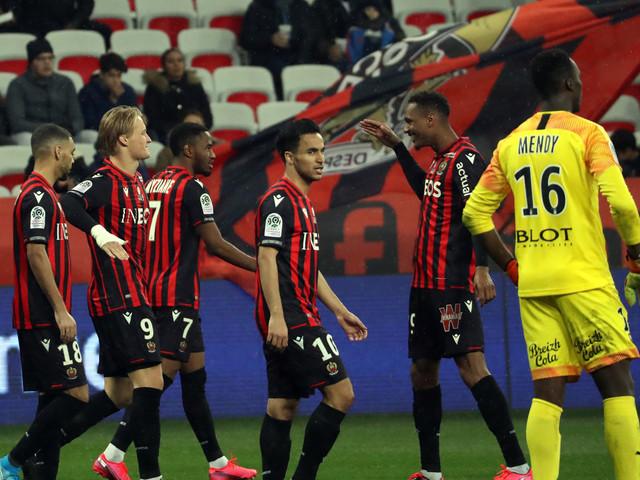 Ligue 1: Rennes arrache le nul à Nice