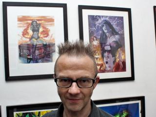 Graham Humphreys, Coloring Punk