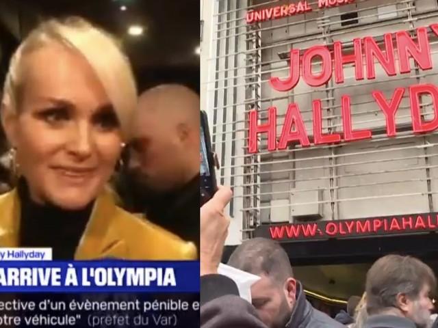 Johnny Hallyday célébré à l'Olympia devant Laeticia et des milliers de fans