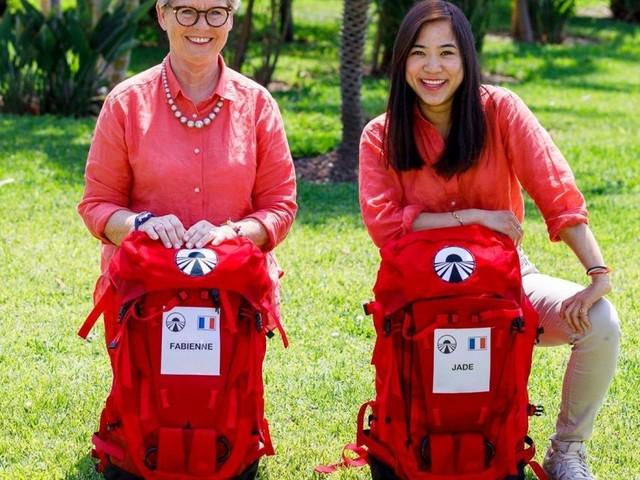 """Fabienne et Jade tentent l'aventure de Pékin Express """"Sur la route des 50 volcans"""""""