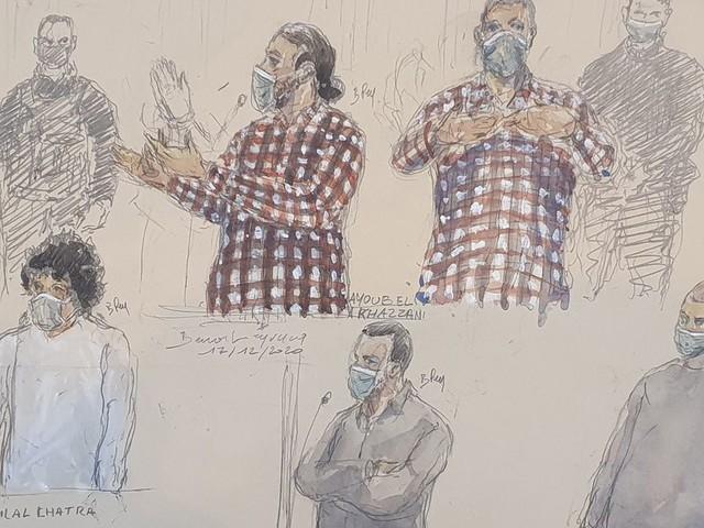 Procès du Thalys: Ayoub El Khazzani condamné à la perpétuité