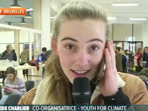 """Les Jeunes pour le climat répliquent au tweet moqueur d'un père: """"Il fait croire que changer sa consommation est une punition"""""""