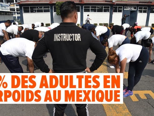 Pompes, abdos, étirements: Mexico met au RÉGIME ses policiers un peu trop enveloppés avec un programme intensif (photos)
