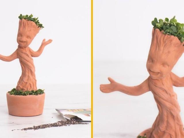 [TOPITRUC] Un pot de fleur bébé Groot, pour le coiffer comme tu veux