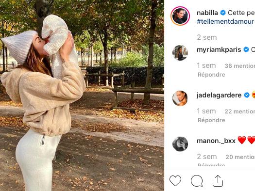 Nabilla, très amincie après sa grossesse