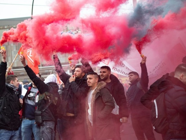 Thyssenkrupp: importante manifestation contre les suppressions d'emplois