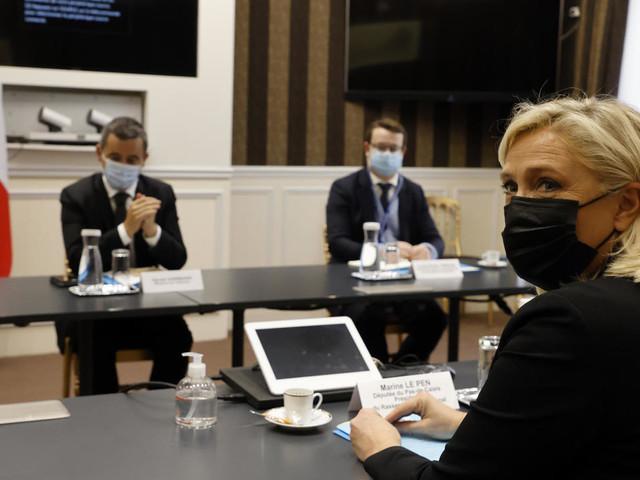 Islamisme, immigration: Le Pen et Darmanin se mesurent sur le régalien avant 2022