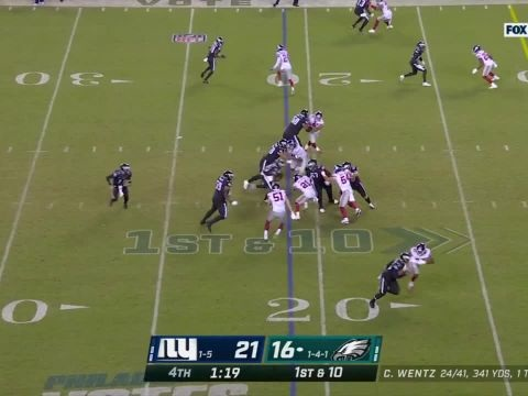 Foot US - NFL - NFL : le résumé de Philadelphia Eagles-New York Giants en vidéo