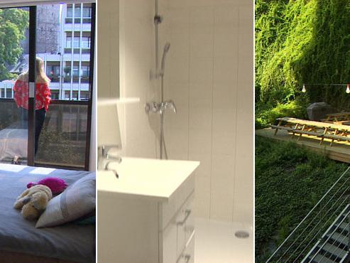 Buanderie, salle d'étude, salle télé, grande terrasse: voici les kots de luxe de Liège (vidéo)