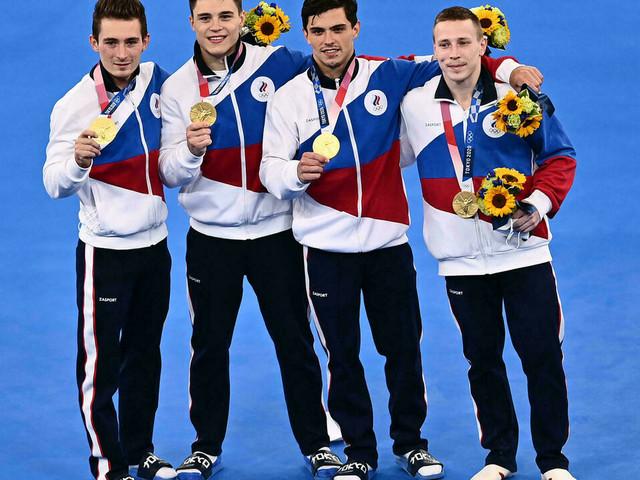 JO-2020: la Russie chipe l'or au Japon par équipes en Gymnastique