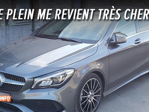 """La Mercedes de Pierre s'arrête sur l'autoroute: il accuse un """"mauvais diesel"""", la station-service réfute tout problème"""