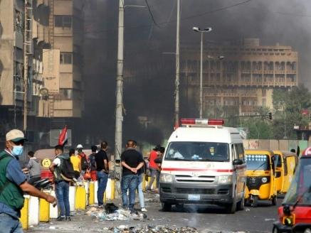 Mobilisation maintenue en Irak où l'ONU tente de stopper l'effusion de sang