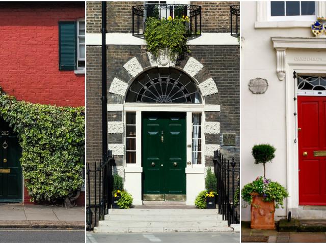 Top 15 des plus belles photos de portes d'immeuble à Londres
