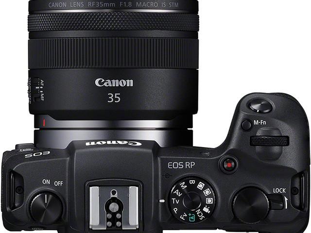 Canon EOS RP : le 24 x 36 poids plume