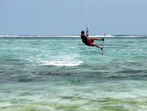 Tout sur le kitesurf à l'île Maurice