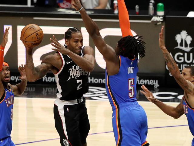 NBA: les Clippers et Kawhi Leonard continuent leur marche en avant