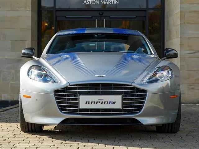 Avec sa RapidE, Aston Martin veut s'imposer sur le marché de l'électrique de luxe