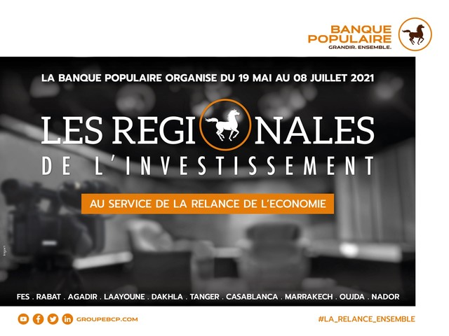 La Banque populaire se mobilise pour accompagner la relance économique des régions
