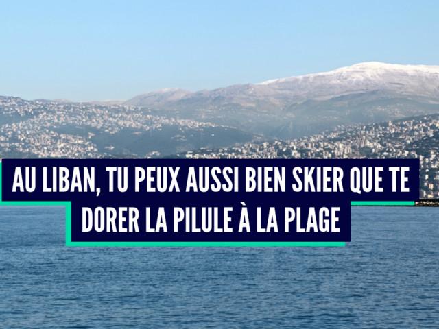 Top 9 des raisons d'aller au Liban, le pays du houmous