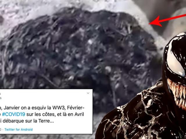 [Zone 42] Venom : le symbiote a été aperçu en vrai ! (vidéo)