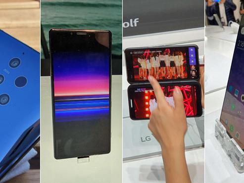 Cinq capteurs photos à l'arrière, écran de cinéma, gros bide et bon plan: 4 smartphones originaux du Mobile World Congress (photos)