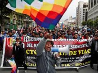 Bolivie : Coup d'état raciste contre ses peuples indigènes!, par Yorgos Mitralias