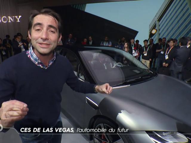 CES de Las Vegas, l'automobile du futur - Reportage TURBO du 12/01/2020