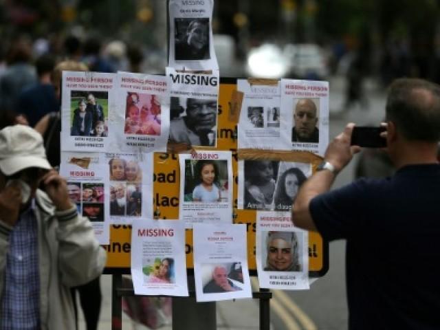 Incendie de Londres: l'insupportable attente des proches des disparus
