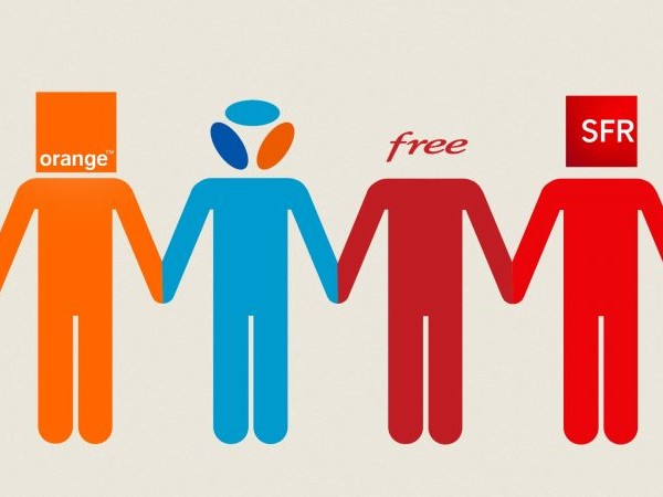 Meilleur réseau mobile : Orange en tête, Free Mobile réduit l'écart avec ses rivaux et offre les meilleurs débits descendants en zone rurale