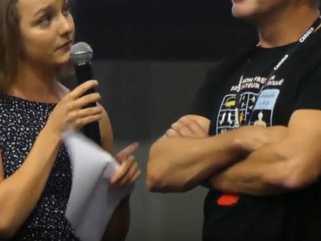 À Toulouse, la performance de la Castraise Isabelle Gaspar face à l'acteur Jean Dujardin